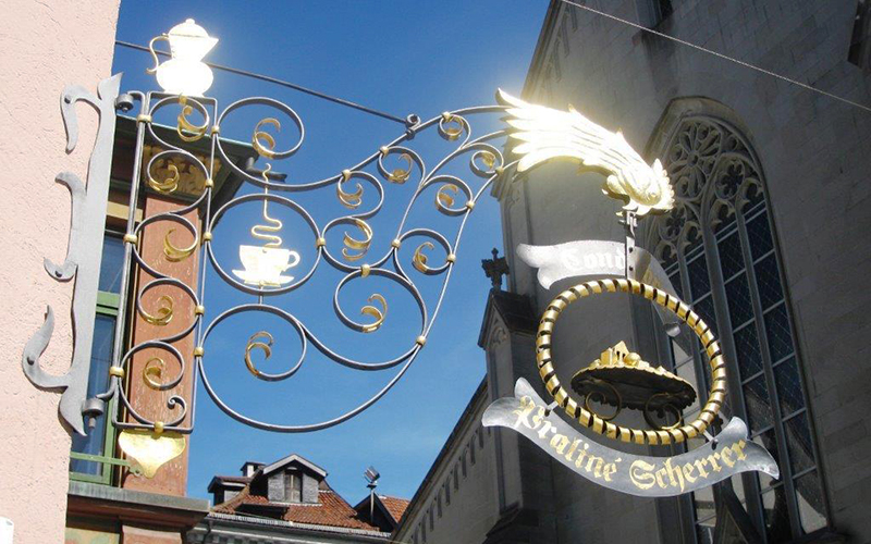 Praliné Scherrer St.Gallen