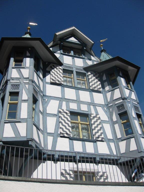 Haus aus dem 14. Jahrhundert Altstadt St. Gallen