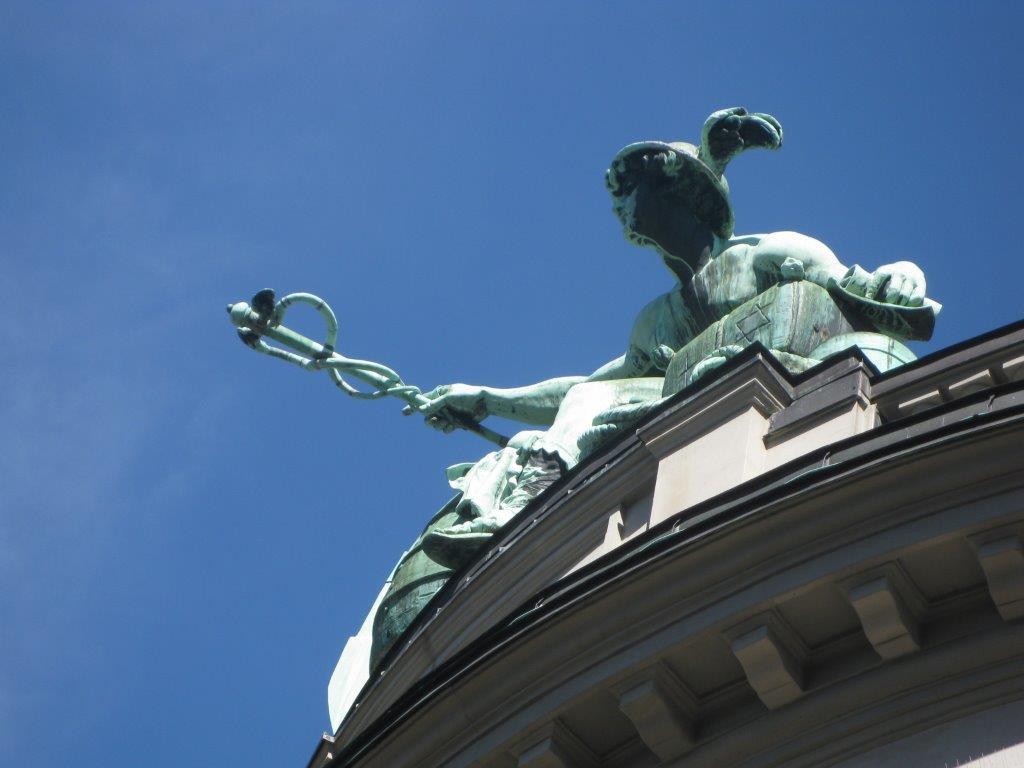 Bronze Statue UBS St.Gallen