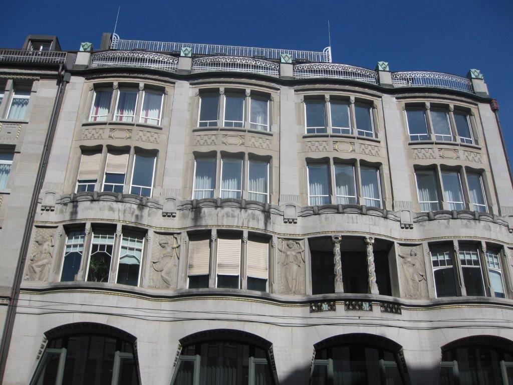 Jugendstil Gebäude St. Gallen
